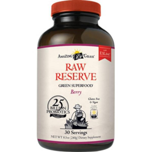 Raw Reserve Berry Green Superfood Gluten Free, Vegan, ORGANIC