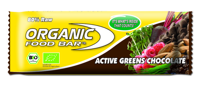 Active Greens Chocolate Snackbar , ORGANIC