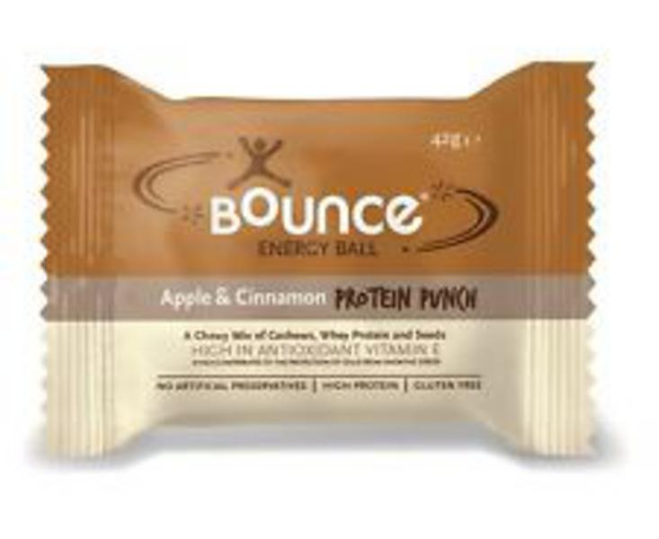 Apple & Cinnamon Protein Punch Energy Balls Gluten Free
