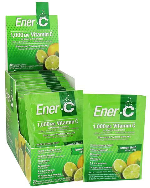 Lemon,Lime & Vitamin C Drink Mix 1000mg