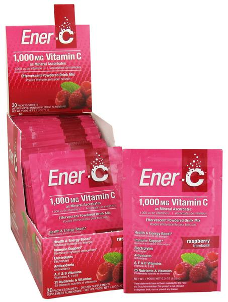 Raspberry & Vitamin C Drink Mix 1000mg