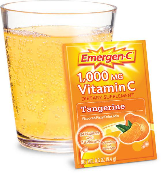 Tangerine Vitamin C Drink Mix 1000mg