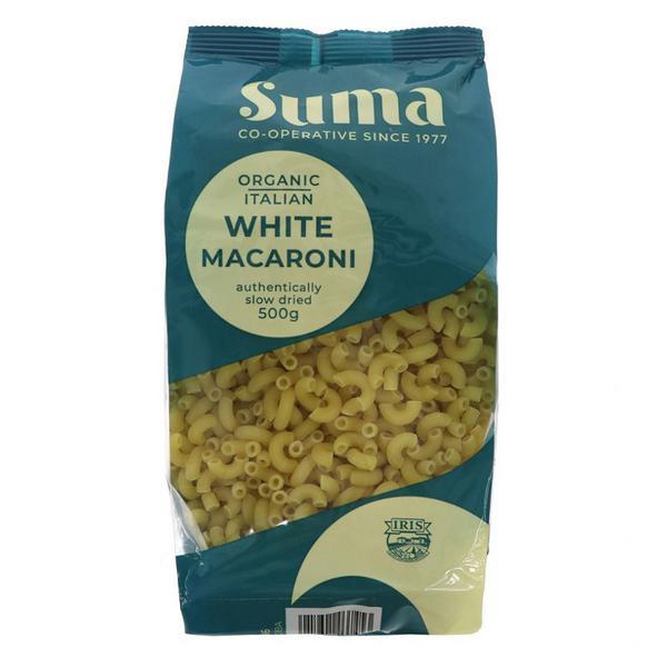 White Macaroni Pasta ORGANIC