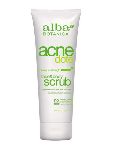 Acnedote Acnedote Face And Body Scrub In 227g From Alba