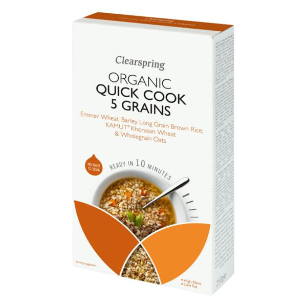 Quick Cook 5 Grains ORGANIC