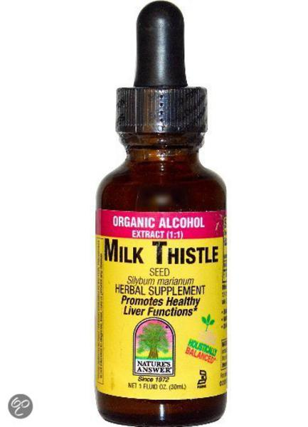 Milk Thistle Seed Extract Low Alcohol  image 2