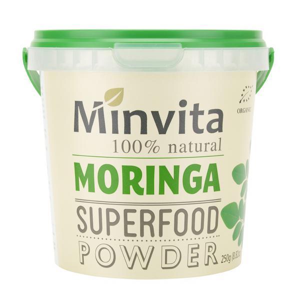 Moringa Superfood Powder Vegan, ORGANIC