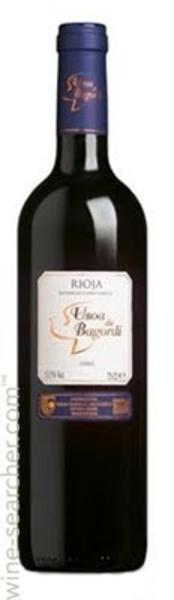 Rioja Usoa de Bagordi Red Wine Spain ORGANIC