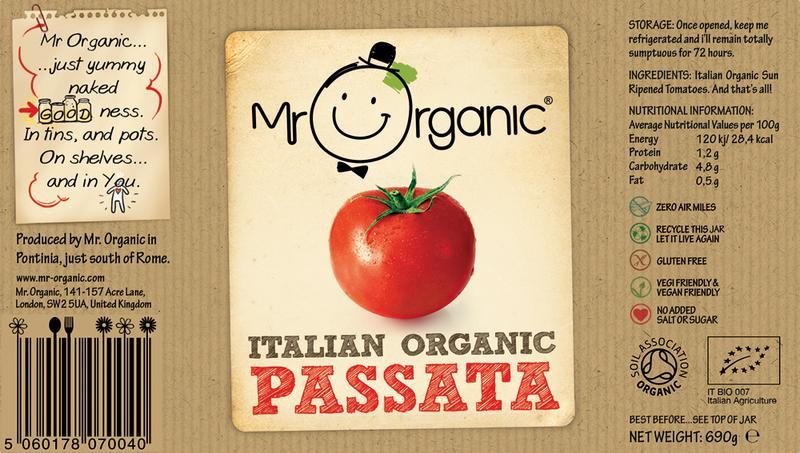 Passata no added salt, no added sugar, ORGANIC image 2