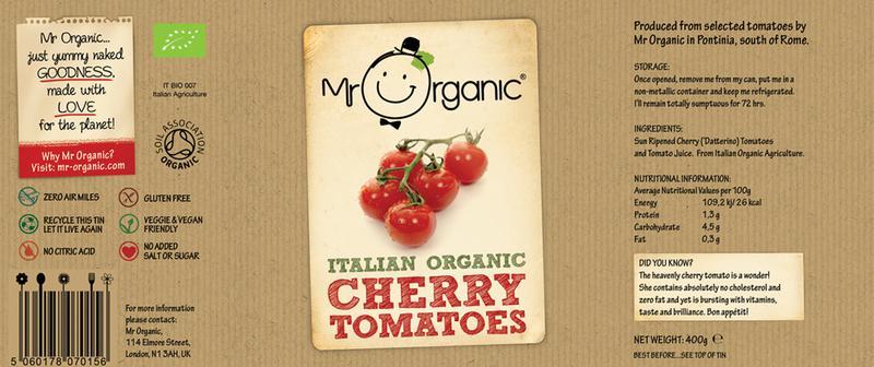 Cherry Tomatoes ORGANIC image 2