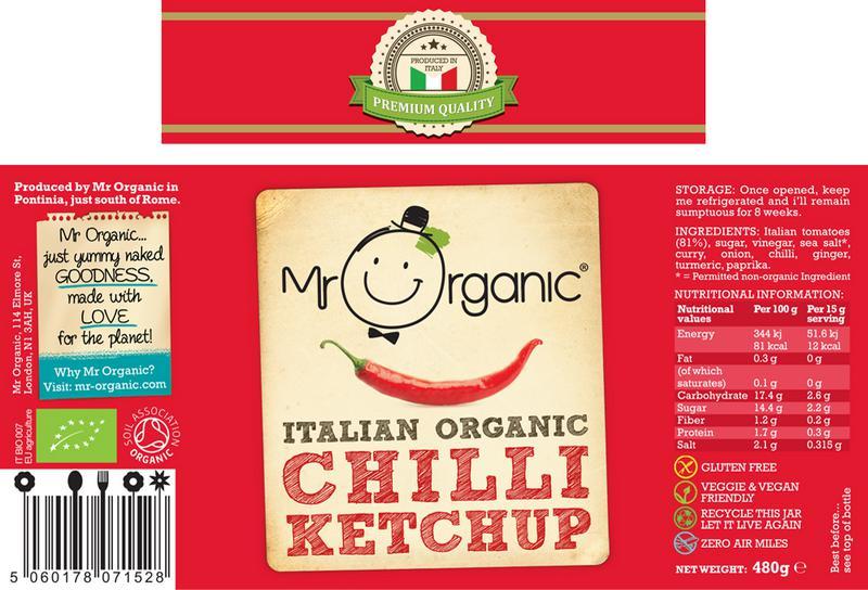 Chilli Ketchup Vegan, ORGANIC image 2