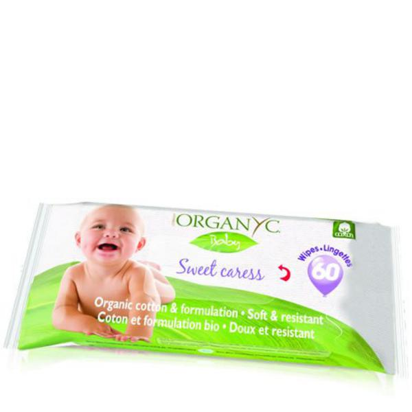 Sweet Caress Cotton Baby Wipes