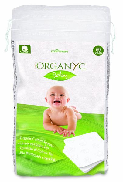 Cotton Squares Vegan, ORGANIC