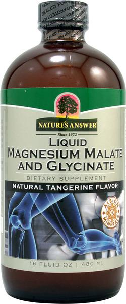 Liquid Platinum Magnesium Malate & Glycinate Supplement