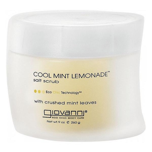 Cool Mint Lemonade Salt Scrub