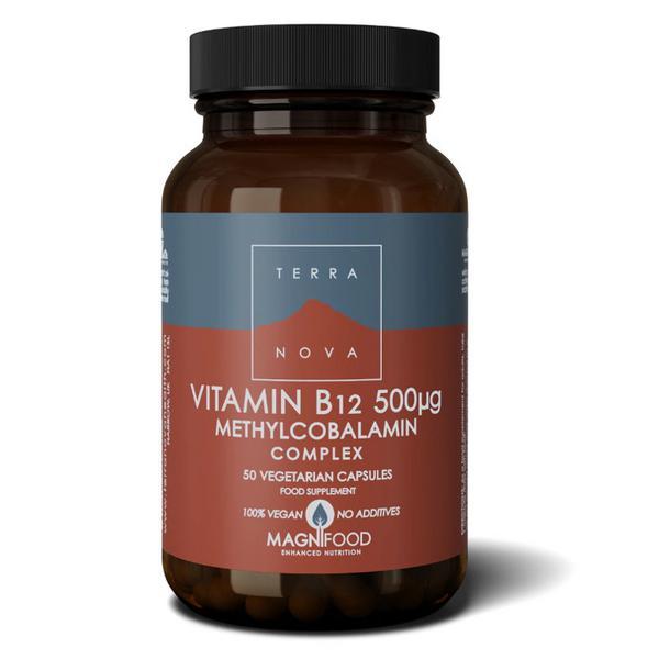 Vitamin B12 Complex 500mcg sugar free, Vegan