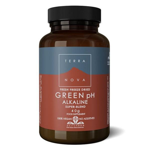 Green pH Alkaline Super Supplement sugar free, Vegan