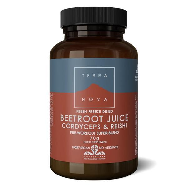 Beetroot,Cordyceps & Reishi Super Supplement sugar free, Vegan