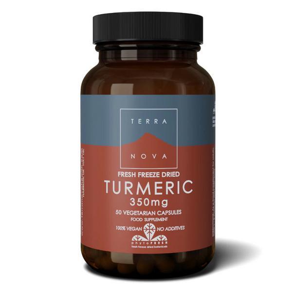 Turmeric Supplement 350mg sugar free, Vegan