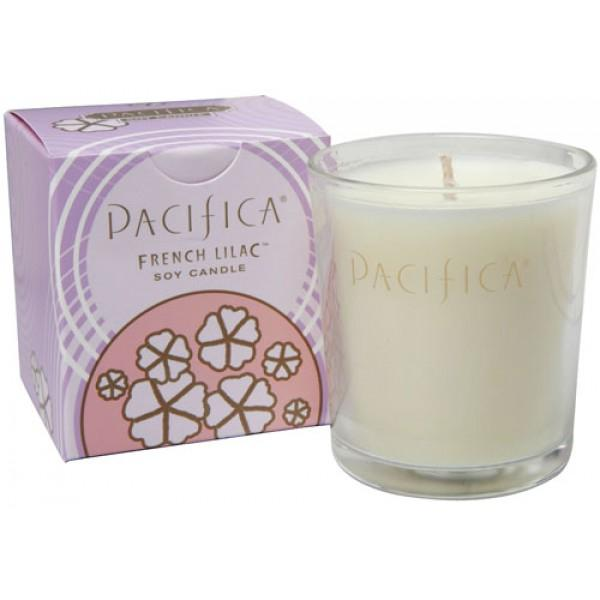French Lilac Soy Candle Vegan