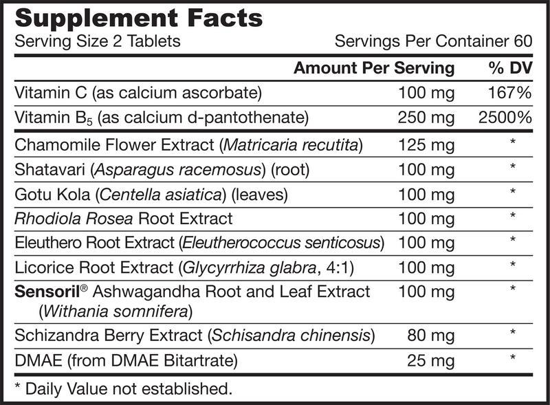 Adrenal Optimizer Supplement Vegan image 2