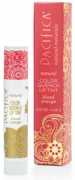 Colour Quench Blood Lip Gloss Orange Make Up Vegan