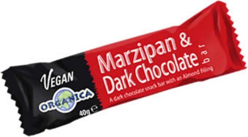 Marzipan & Dark Chocolate Bar Vegan