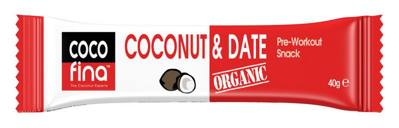 Coconut & Date Snackbar no added sugar, Vegan, ORGANIC