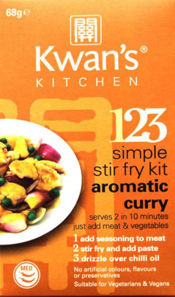 Aromatic Curry Stir Fry Kit Vegan