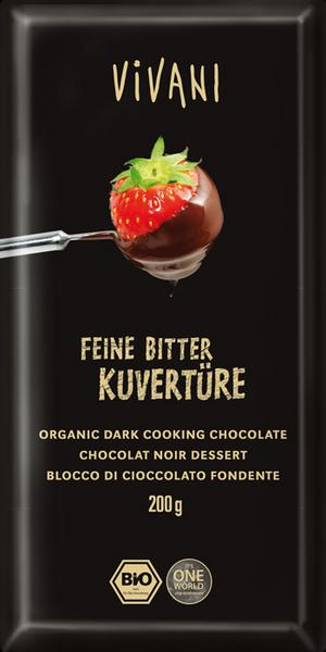 Dark Cooking Chocolate Vegan, ORGANIC