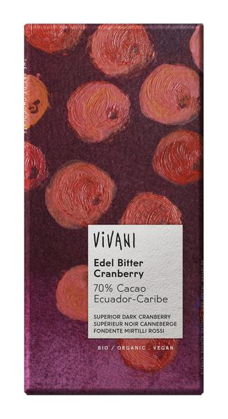 Cranberry Arriba Dark Chocolate Vegan, ORGANIC