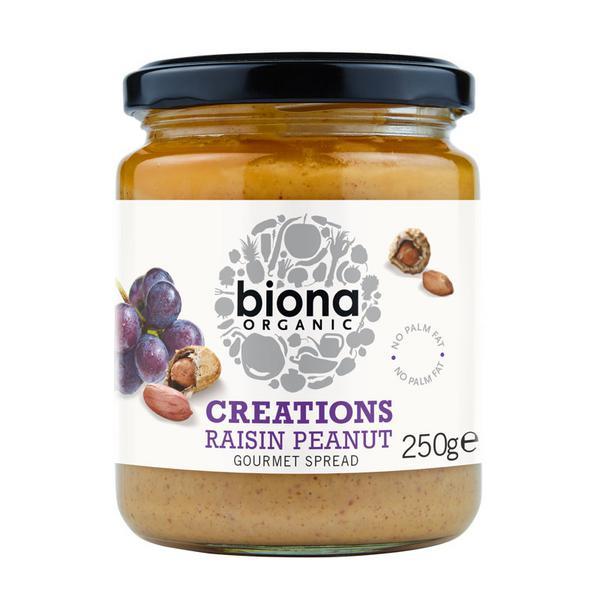 Creations Raisin Peanut Gourmet Spread ORGANIC
