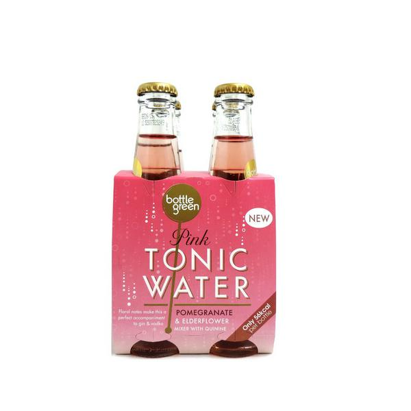Pink Tonic Water Pomegranate & Elderflower