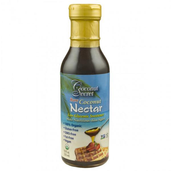 Raw Coconut Sugar Nectar Sap Gluten Free, Vegan