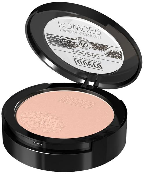 Make Up Mineral Compact Powder Ivory 01