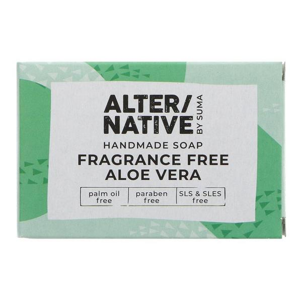 Fragrance Free Aloe Vera Soap dairy free, Vegan