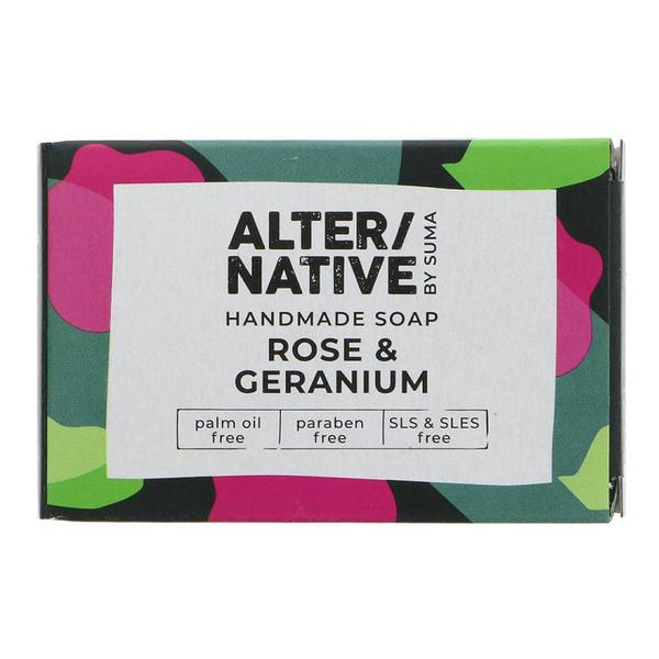 Rose & Geranium Soap Vegan