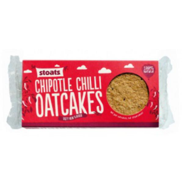 Chilli Chipotle Oatcakes wheat free