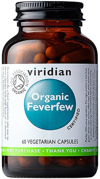 Feverfew Supplement Vegan, ORGANIC