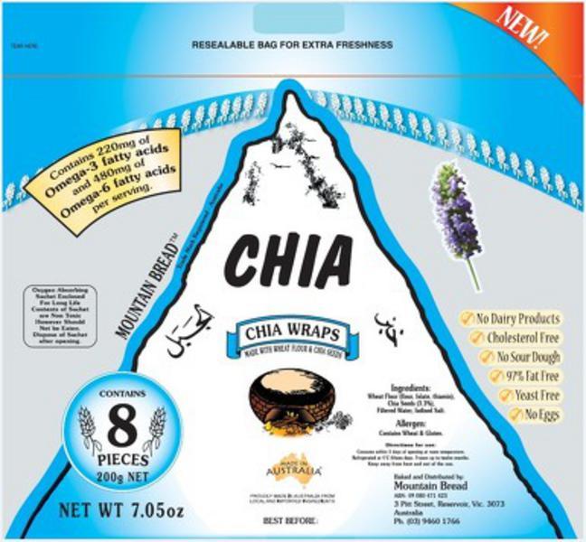 Chia Wraps Vegan