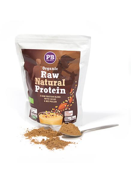 Chocolate Raw Protein Supplements UK dairy free, ORGANIC