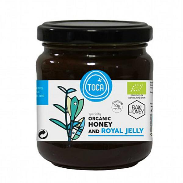 Raw Honey Royal Jelly ORGANIC