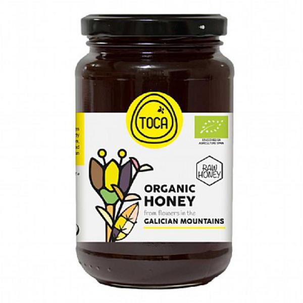Raw Galician Mountains Flower Honey ORGANIC