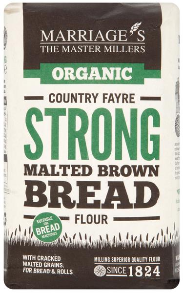 Country Fayre Strong Malted Brown Bread Flour ORGANIC
