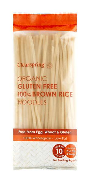 Brown Rice Noodles Gluten Free, Vegan, ORGANIC