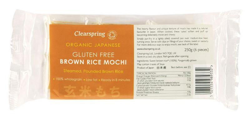 Brown Rice Mochi Gluten Free, Vegan, ORGANIC