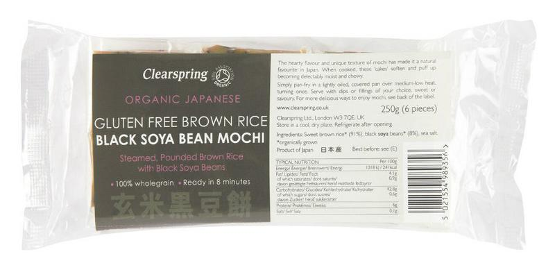 Brown Rice Black Soya Bean Mochi Japanese Gluten Free, Vegan, ORGANIC