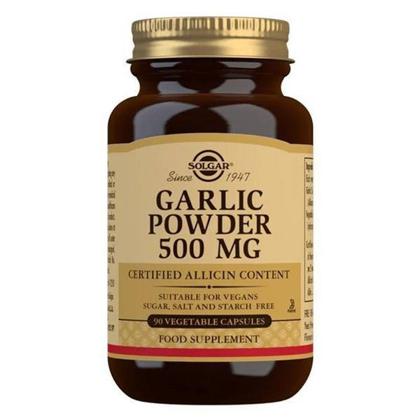 Garlic Powder 500mg Supplement Vegan