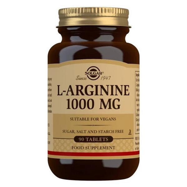 L-Arginine 1000mg Amino Acid Gluten Free, salt free, sugar free, Vegan, yeast free