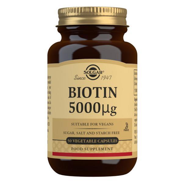 Biotin 5000ug Vitamin B Vegan